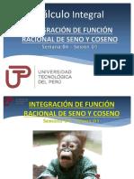 Integración de Función Ra-cional de Seno y Coseno