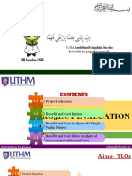 Chapter 6 [Kuliah] - Project Evalation Method