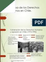 Defensa de Los Derechos Humanos en Chile