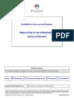 PSPS E22 en Atmospheric Distillation
