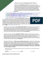 Rubric AnnotatedBibAPA