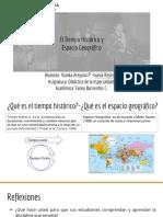 Disertación Tiempo Histórico y Geográfico