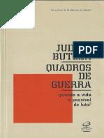 BUTLER, Judith - Quadros de Guerra quando a vida e passivel de luto.pdf