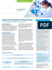 UCD ME Chemical & Bioprocess Engineering Information Aug 2016