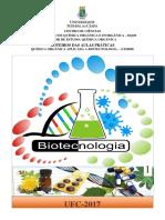 Curso Biotecnologia Praticas 2017.1