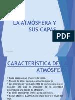 EXPO Capas de La Atmosfera Resumen