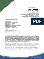 Ficha Tecnica Atonit 5 Ec