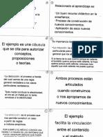 El Ejemplo, La Analogía y La Metáfora Diapositivas