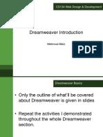 Dreamweaver Introduction.ppt
