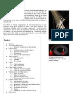 Fibra Óptica - Wikipedia, La Enciclopedia Libre