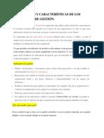 2.2 Definición y Características de Los Indicadores de Gestión Empresarial