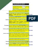 Evaluaciones Individuales Por Materia y Aspectos