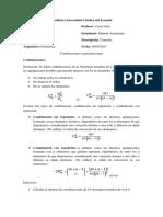 Consulta Sobre Combinaciones y Permutaciones