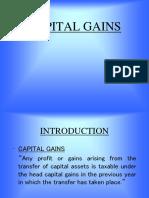 Capital Gains 2011