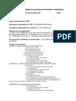 Intitulé Du Master Micro-électronique RF