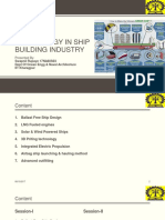 Modern Technology in Ship Building Industry