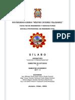 Sílabo 2017-II Costos y Presupuestos - Nf