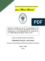 Proyecto Fernandez Palacin