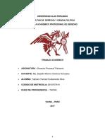 Der Procesal Tributario Fustamante Silva 2017