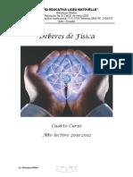 Deberes de Física Para Cuartos Cursos (1)
