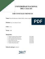 Informe Lab1 Circuitos Electrónicos