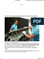 Volvo Trucks Capacita Profesionales en Toda América Latina _ Motorbit