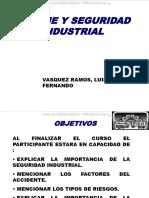 Curso Seguridad Higiene Industrial Factores Accidentes Tipos Riesgos Importancia