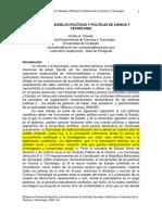 Conexto Ovidio, Charles Modelos Políticos y Políticas de Ciencia y Tecnología en Venezuela