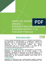 Ppt - Unidad I_ Admon, Derecho, y Funcion Publica