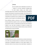 FERTILIZANTES SINTETICOS