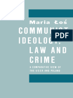 Maria Łoś (Auth.)-Communist Ideology, Law and Crime_ a Comparative View of the USSR and Poland-Palgrave Macmillan UK (1988)
