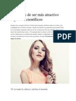 10 formas de ser más atractivo según los científicos.docx