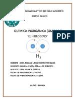 El Hidrogeno Chris Qmc 104l