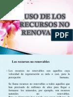 Uso de Los Recursos No Renovables-fin