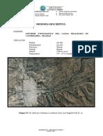Informe Canal Marian Huaraz