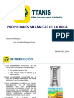 4. Propiedades Mecánicas de La Roca