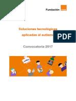 Bases Convocatoria Fundacion Orange 2017