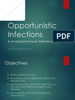 HIV AIDS Opportunistic Infections