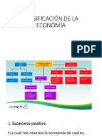 Clasificación de La Económía