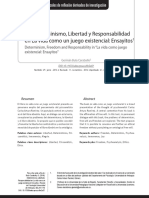 Determinismo y Libertad