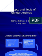 Presentation 3b REV (Concepts and Tools of Gender Analysis)