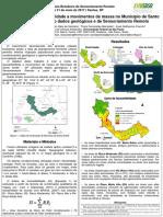 Mapeamento da suscetibilidade a movimentos de massa no Município de Santo André –SP utilizando dados geológicos e de Sensoriamento Remoto