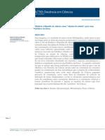 História e Filosofia Da Ciência Como Objeto de Estudo Para Uma Didática Da Física