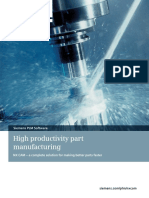 Siemens PLM NX CAM High Productivity Part Manufacturing Tcm1023 4561 Tcm29 1989