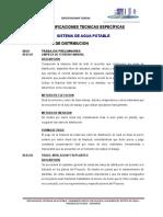 09 Especif. Tecnicas - Redes de Distribucion