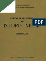 Studii Si Materiale Istorie Medie 14 (1996)