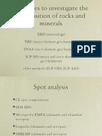 PET 720 06 Geochemical Methods