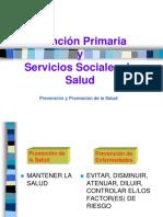 Atencion Primaria y Servicos Sociales en Essalud