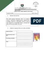 Guía Análisis Ada, Madrina y Otros Seres