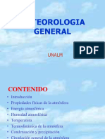Capitulo I meteorologia general UNALM